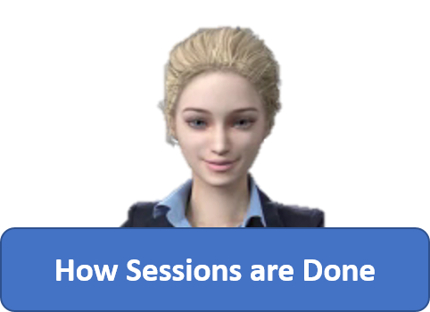 Anna explains about how Sessions are done - Tom Heintz cecp cbcp