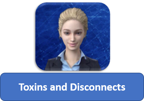 Anna explains about Toxins and Disconnects - Tom Heintz cecp cbcp